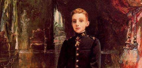 Alfonso XIII (detalle) -1901-