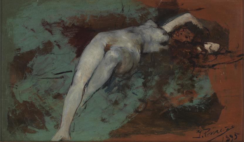 Desnudo de mujer -1895- (El Prado)