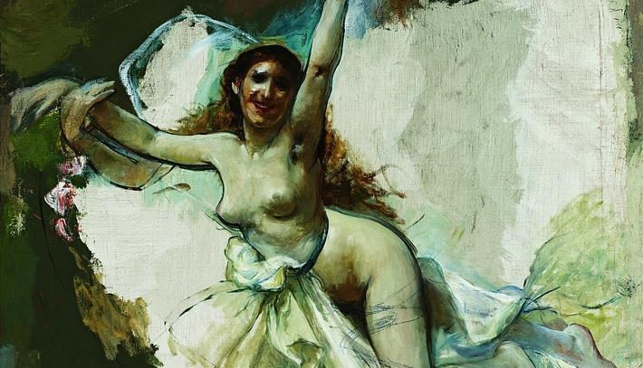Desnudo femenino Palacio Fontanals