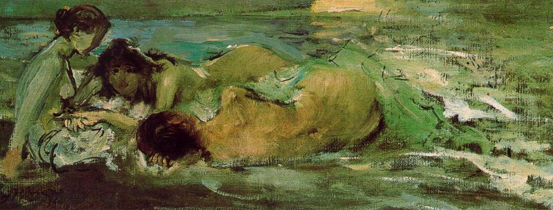 Desnudos a orillas del mar
