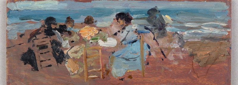 En la playa -1906-