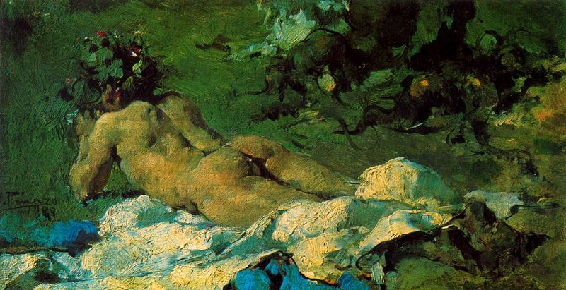 Fauno (desnudo infantil) -1888-