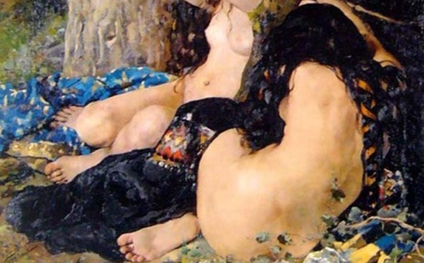 Las hijas del Cid 1 -1879- (detalle)