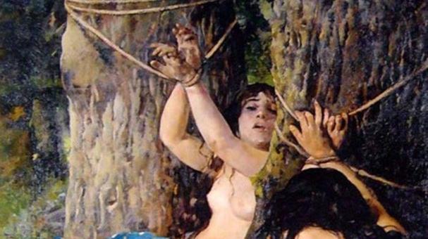 Las hijas del Cid 2 -1879- (detalle)