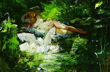 Leda y el cisne (Detalle)