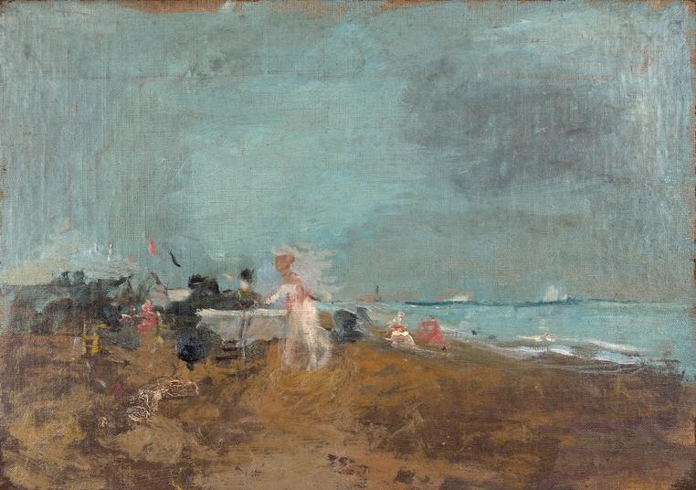 Merienda en la playa