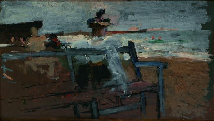 Mirando al mar -1890-