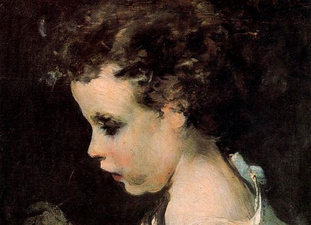 Niño llamado el pintorcito (detalle)