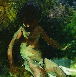 Niño verde (Detalle)