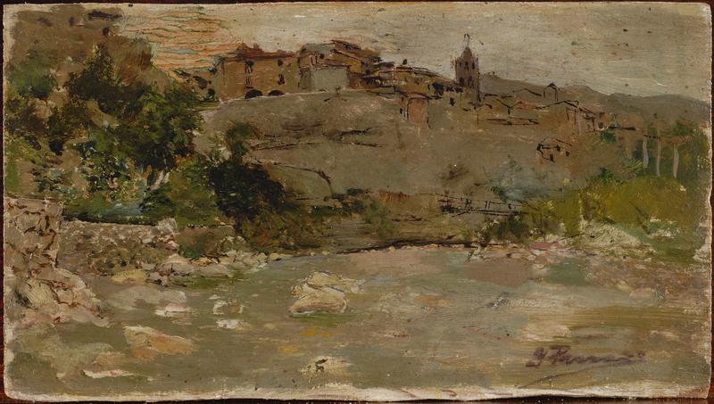 Paisaje con rio 1878