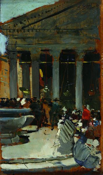Panteón de Roma, 1880