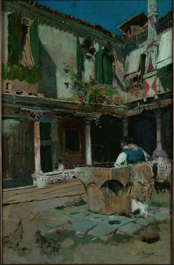 Patio de mi casa en Venecia