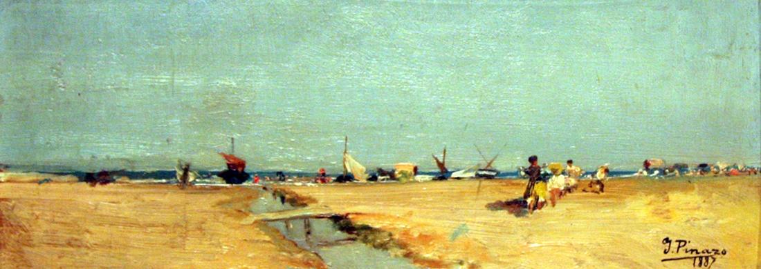 Playa Malvarrosa -1887-