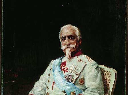 Retrato Conde Guaqui (detalle)