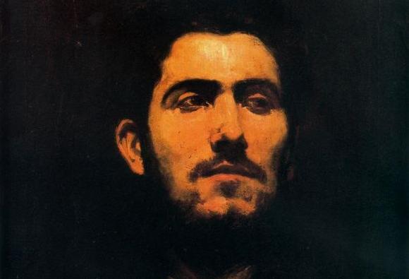 Retrato de Antonio Pinazo (Detalle)