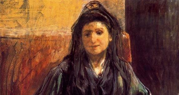 Retrato de Teresa (detale)
