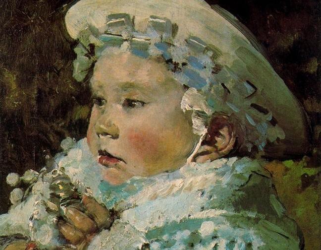 Retrato de su hijo José -1880- (detalle)