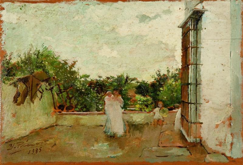 Teresa y los niños -1885-