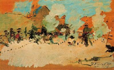 Traca y mascletà, 1895