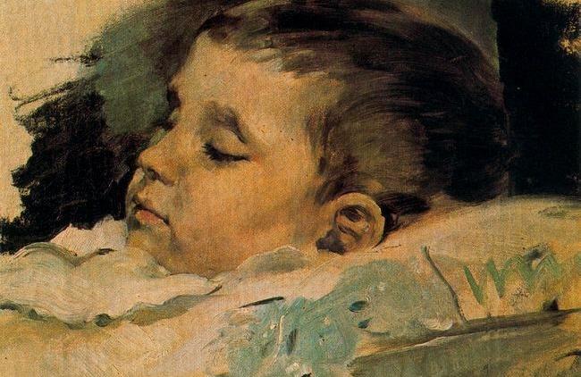 niño 1882 (detalle)