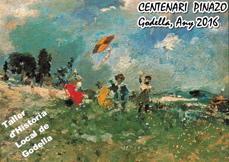 """""""La cometa"""", quadre de Pinazo"""