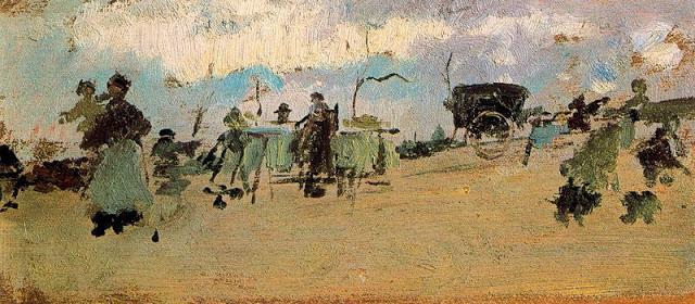 escena en el campo