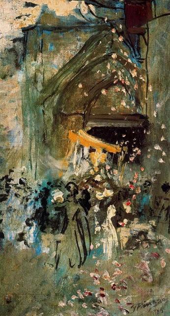 Procesión del Corpus, Casa-Museo, Godella, 1885