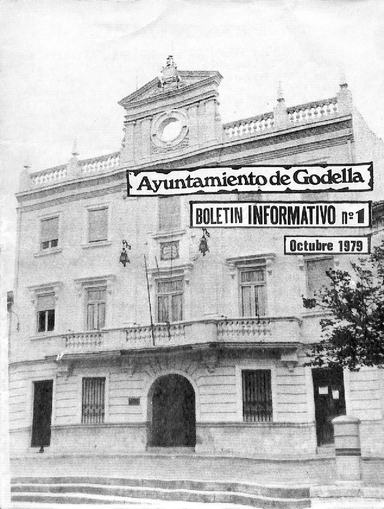 Primer Butlletí de l'Ajuntament de Godella